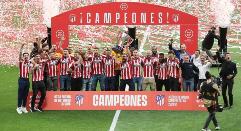 El At. Madrid, campeón de Liga