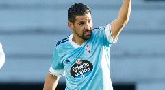 Nolito marca su gol 50 con la camiseta del RC Celta