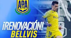 Carlos Bellvis renueva con la AD Alcorcón
